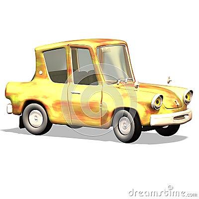 Cartoon car No. 19