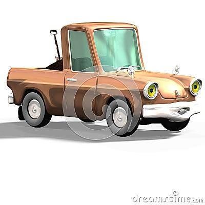 Cartoon car No. 27