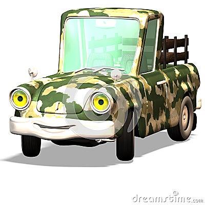 Cartoon car No. 28