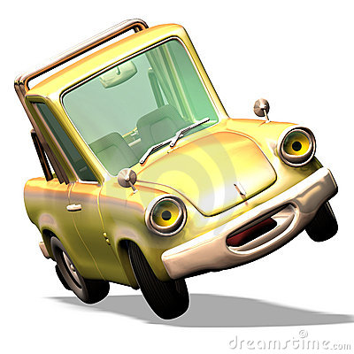 Free Cartoon Car No. 29 Stock Image - 2372641
