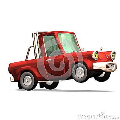 Free Cartoon Car No. 30 Stock Photography - 2372642