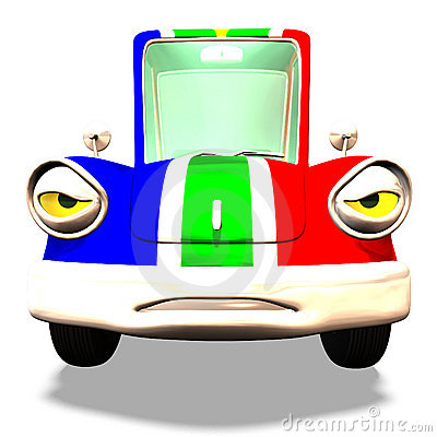 Cartoon car No. 31