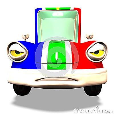 Free Cartoon Car No. 31 Stock Photos - 2372643