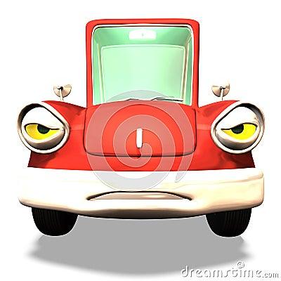 Free Cartoon Car No. 33 Stock Images - 2372644
