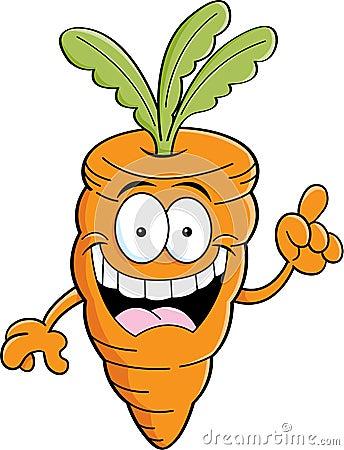 فوائد الجزر Cartoon-carrot-idea-illustration-30415034