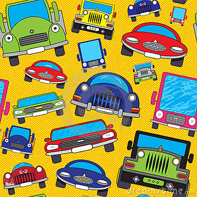 Cartoon cars.