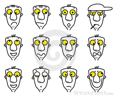Cartoon character avatars