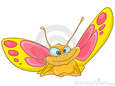 Cartoon Character Butterfly