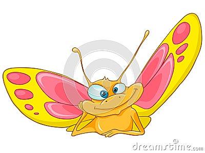 Cartoon Character Butterfly