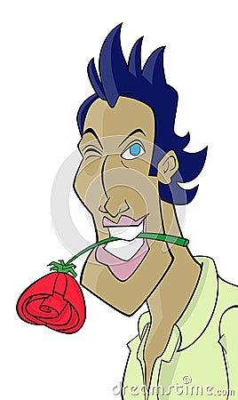 Cartoon character Don Juan