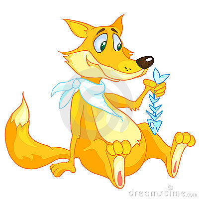 Cartoon Character Fox
