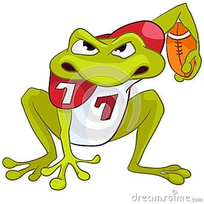Cartoon Character Frog