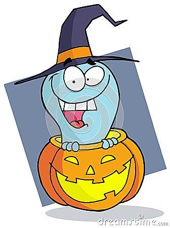 Cartoon character halloween ghost