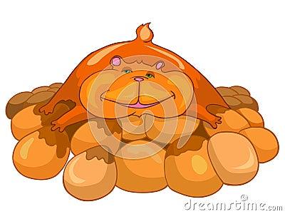 Cartoon Character Hamster