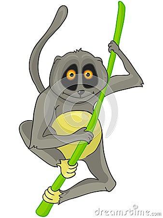 Cartoon Character Lemur