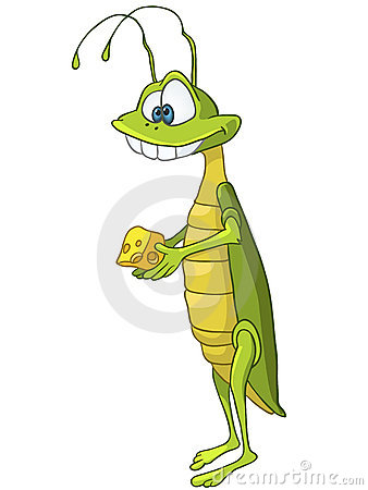 Cartoon Character Locust