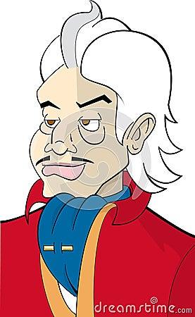 Cartoon character mafia-guy