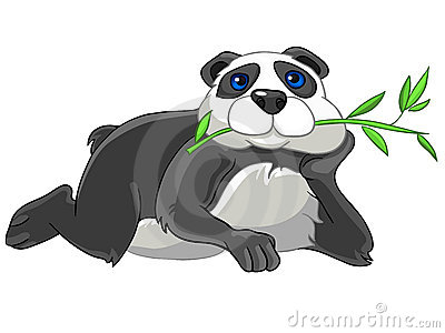Cartoon Character Panda