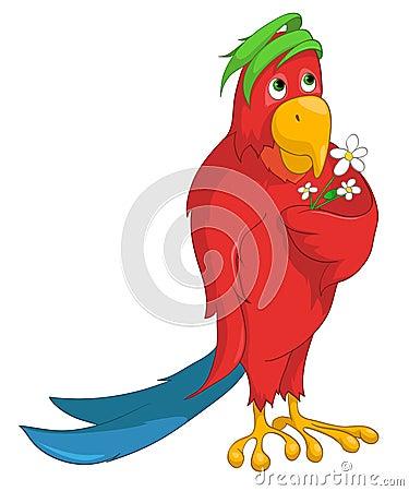 Cartoon Character Parrot