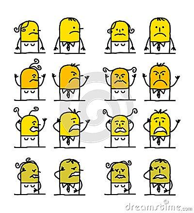 Cartoon characters - badness
