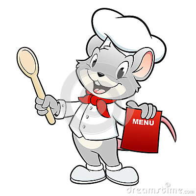Cartoon Chef Mouse