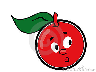 Cartoon cherry