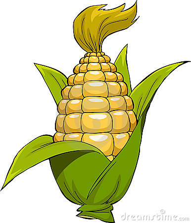 Cartoon corn