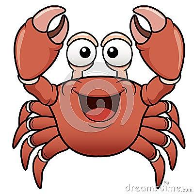 Free Cartoon Crab Royalty Free Stock Photo - 30006465