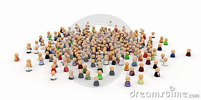 Cartoon Crowd