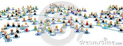 Cartoon Crowd Links, Branch Span