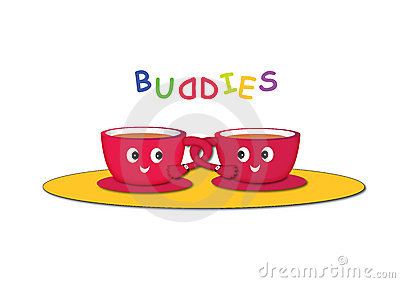 Cartoon cups