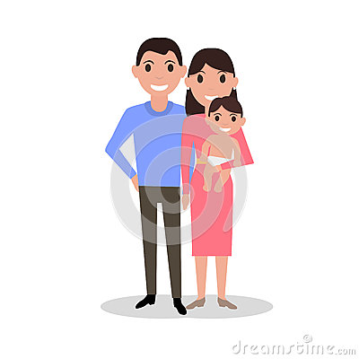 baby and family
