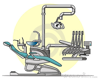 Cartoon Dentist chair