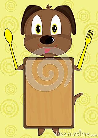 Cartoon Dog Board_eps