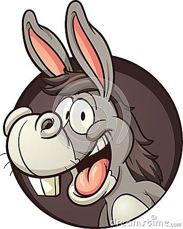 Cartoon Donkey Stock Vector Image 58228128