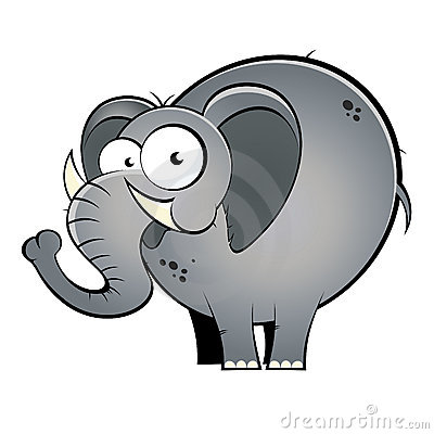 cartoon elephant royalty free stock photography image circus elephant clip art with cocktail circus elephant clip art with cocktail