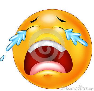 Cartoon Emoticon Cryin...
