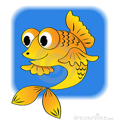 Cartoon fish.