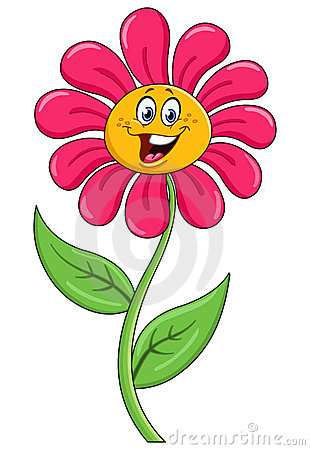 Free Cartoon Flower Stock Photography - 19390472