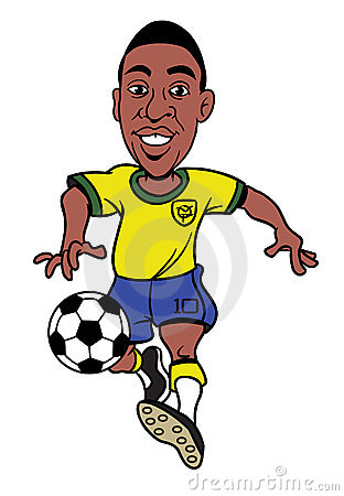 Cartoon Footballer