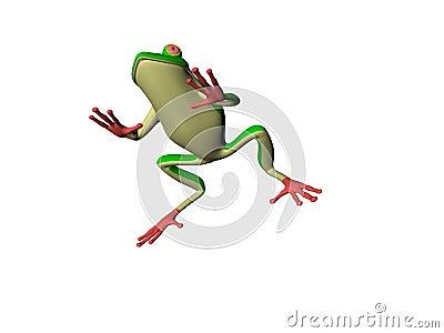 Cartoon Froggy