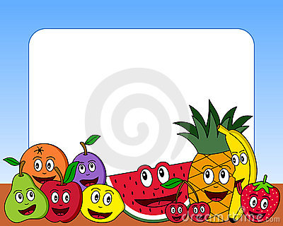 Cartoon Fruit Photo Frame [1]