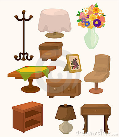 Cartoon Furniture icons