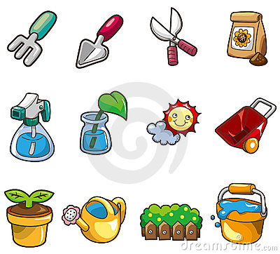 Cartoon Gardening icon
