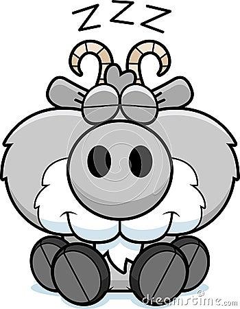 Free Cartoon Goat Napping Royalty Free Stock Photo - 47053835