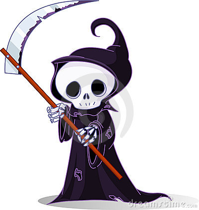Free Cartoon Grim Reaper Stock Photos - 15713513