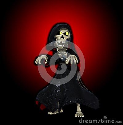 The Cartoon Grim Reaper