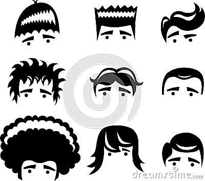 Hair Styles: cartoon hair styles