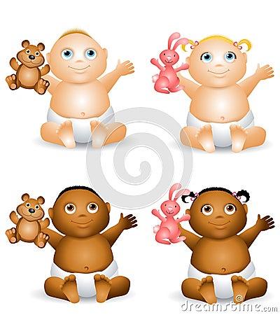 Cartoon Happy Baby Toys