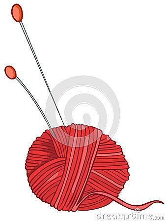 Cartoon Home Miscellaneous Knitting Thread